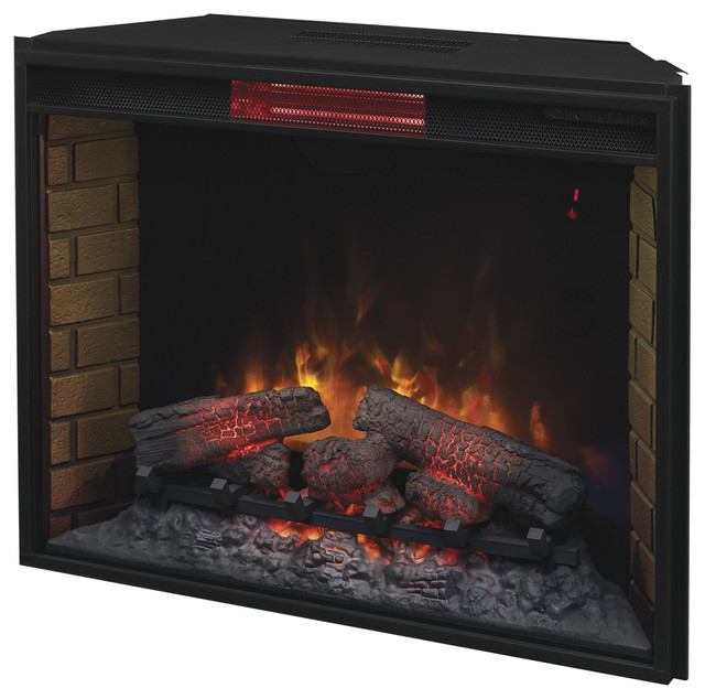 Classicflame Infrared Electric Fireplace Insert 33 Indoor Fireplaces Houzz