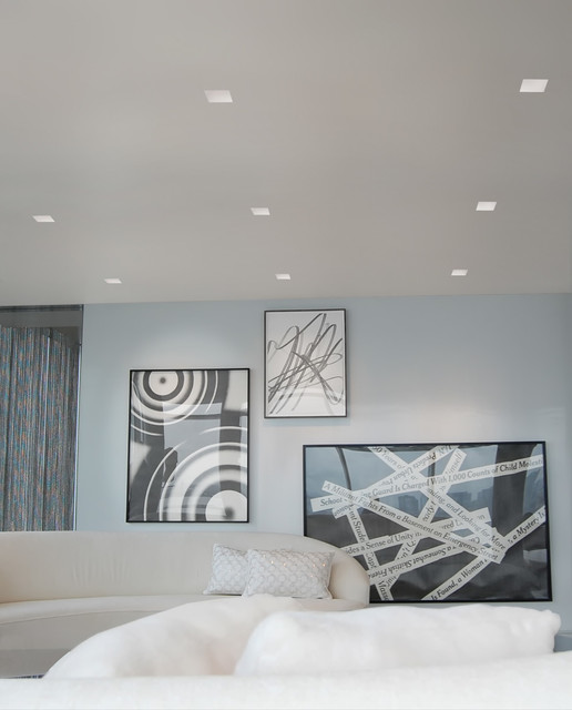 Aurora Square 3.3. Inch Recessed Light contemporary : recessed square lighting - azcodes.com