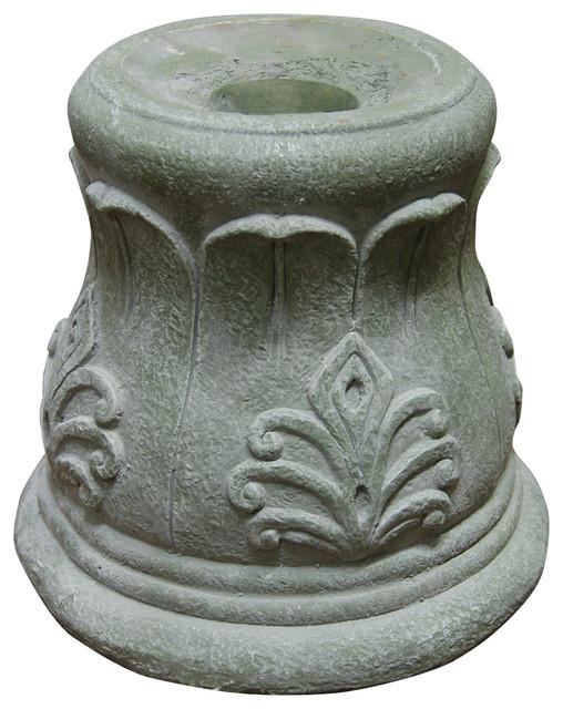 "Roman Column Gazing Globe Stand, 12"""