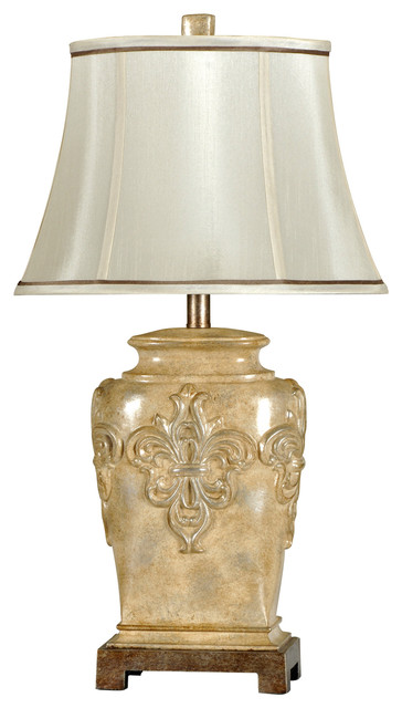 Delicieux Traditional Fleur De Lis Table Lamp