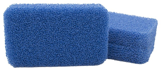 Sinkology Non-Scratch and Odor Resistant Silicone Breeze Scrubber, 3 Pack