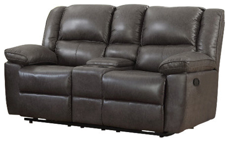 Prime Oregon Gilded Cloth Fabric Reclining Loveseat Gray Alphanode Cool Chair Designs And Ideas Alphanodeonline