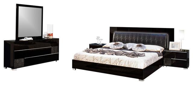 modrest grace eastern king italian modern black bedroom set bedroom furniture sets bedroom black bedroom furniture sets