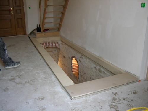 avant apr s r novation d 39 une descente de cave en pierre. Black Bedroom Furniture Sets. Home Design Ideas