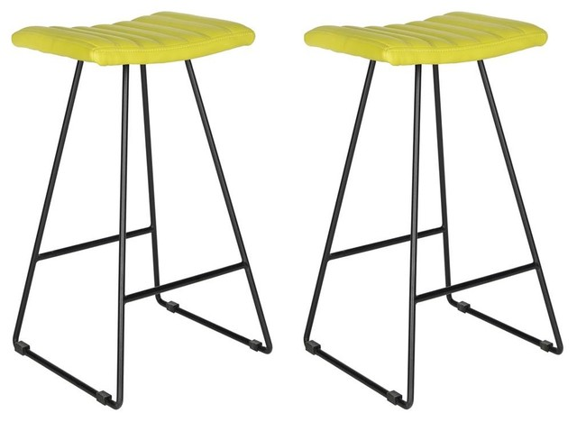 Excellent Akito Bar Stool In Green Finish Set Of 2 Cjindustries Chair Design For Home Cjindustriesco