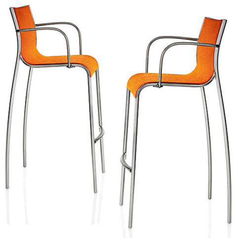 Magis Paso Doble Bar Stool with Arms bar-stools-and-counter-stools - Magis Paso Doble Bar Stool With Arms