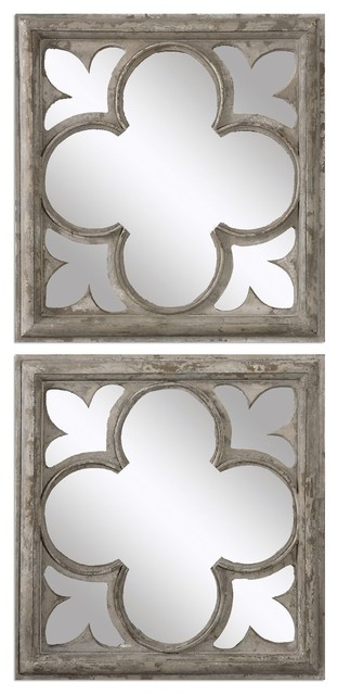 Uttermost Vellauni Mirrors, Set Of 2.
