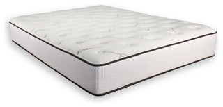 "Twin Size 10"" Thick Firm Talalay Latex Foam Mattress, Made, Usa"