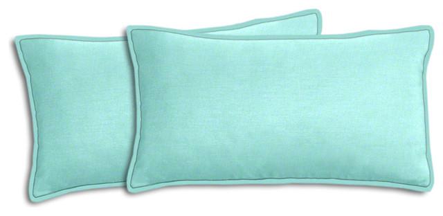 outdoor lumbar pillows canada blue walmart canvas aqua pillow set traditional cushions