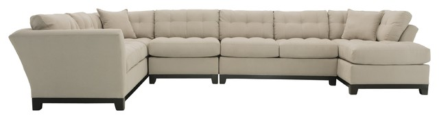 Cindy Crawford Home Metropolis 4 Pc Sectional