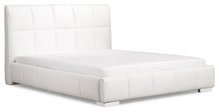 Amelie King Bed, White