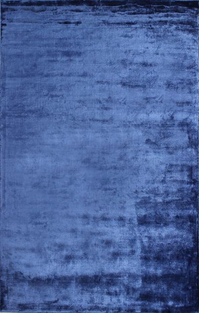 Bashian Calypso Area Rug, Cobalt, 2.6&x27;x8&x27;.