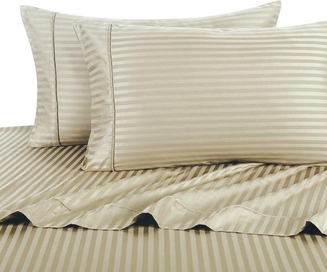 Shop houzz luxury egyptian bedding 600 thread count for Best egyptian cotton bed sheets