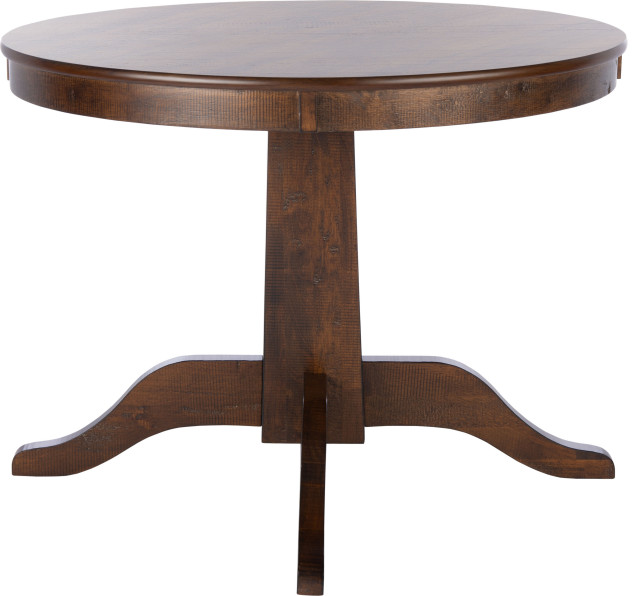 Sergio Round Dining Table Transitional Dining Tables By Hedgeapple