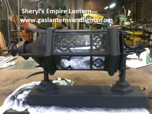 Sheryl's Empire Gas Lantern