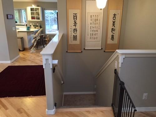 Struggling Flooring Transition From Basement To Main Floor