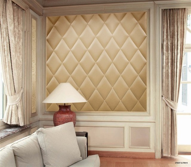 Leather Wall Paneling : Faux leather wall panel modern new york by my luxury