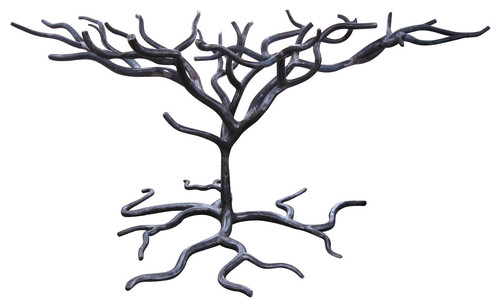 When Will The Wrought Iron Tree Style Dining Table Bases Be Available?