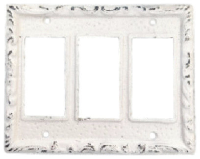 Triple Rocker Switch Plate Simple Farmhouse Switch Plates And