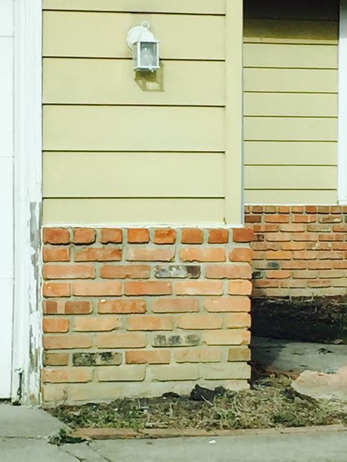 Vinyl Siding To Brick Transition Shapeyourminds Com