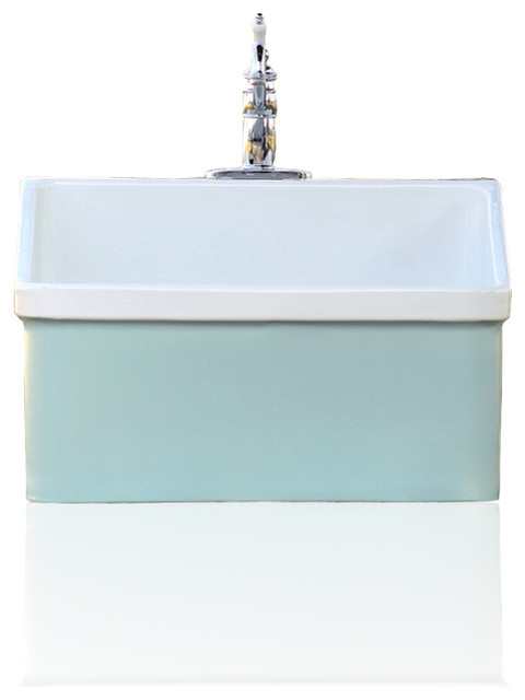 Green Blue Vintage Style Kohler Hollister Farm Sink Apron