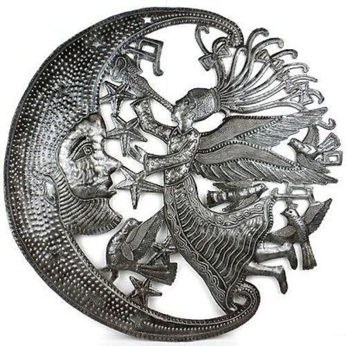 Angel And Moon Metal Art, Croix Des Bouquets.