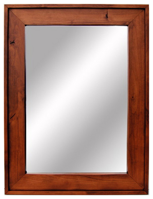 Wooden Mirror-Cherry Wood Stained Mirrors 18x22. Custom Sizes ...