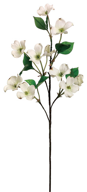 Silk plants direct dogwood branch pack of 12 traditional silk plants direct dogwood branch pack of 12 cream mightylinksfo