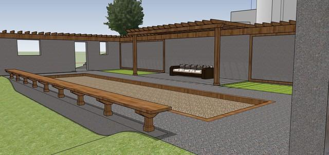 Design/ Build- Rustic Retreat farmhouse-rendering
