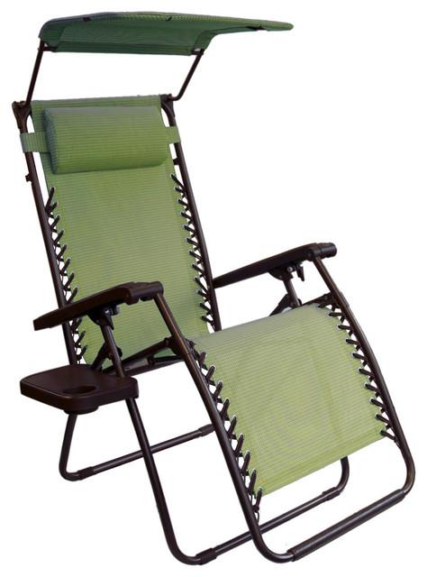 Bliss hammocks bliss hammocks gravity free lounger w for Canopy chaise lounge