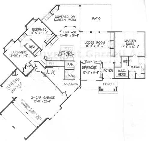 Please help critique this floor plan for Floor plan assistance