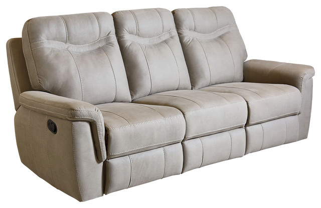 Standard Furniture Boardwalk Manual Motion Sofa In Stone 4017391.