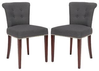 Arion 21''H Linen Ring Chair (Set Of 2)