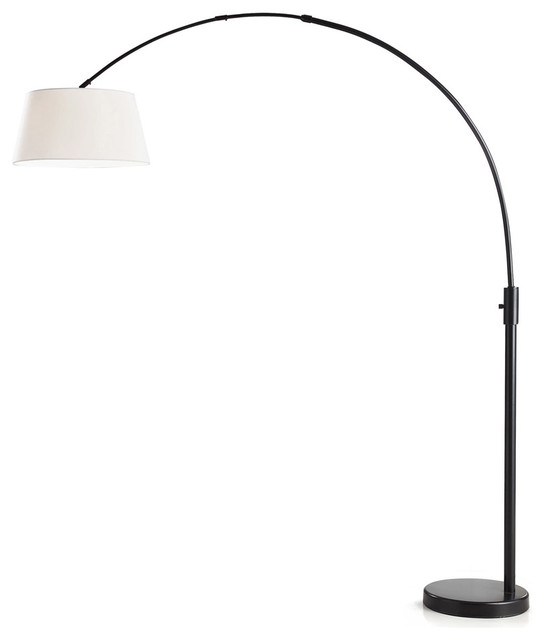 Robert Sonneman Lighting 6016.13 Puri 3-Light Floor Lamps, Satin Nickel