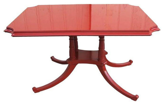 Red Dining Table Gorgeous Best 10 Rooms Ideas