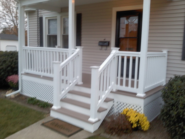 Front Porch And Deck Traditional Verandah
