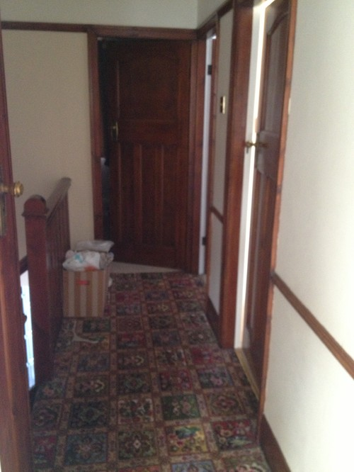 Narrow Foyer Near Me : Dark narrow hallway help me please