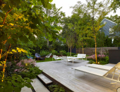 A Contemporary Landscape With Lush, Layered Plantings