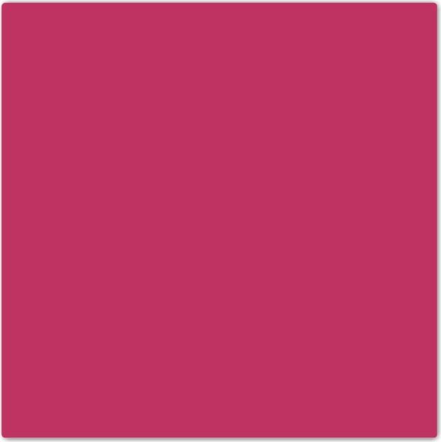 Fuschia Color Fall Winter Design Ceramic Art Tile, 4.25\