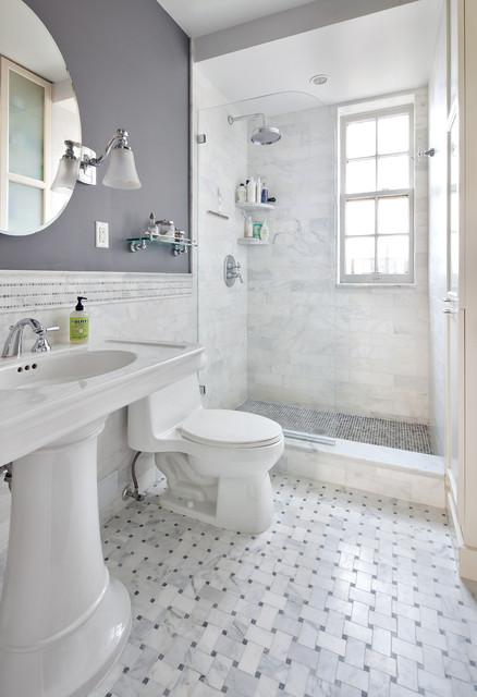 NYC Bathrooms traditional-bathroom