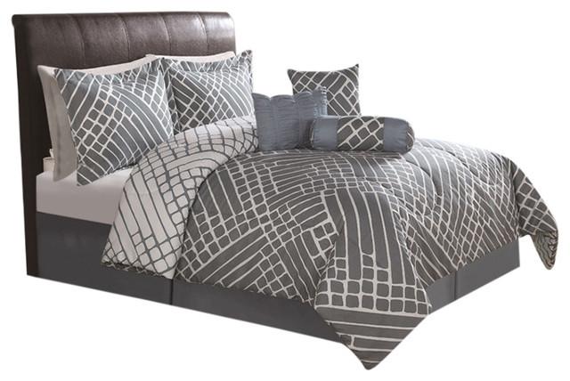 arthur queen 7 piece comforter set