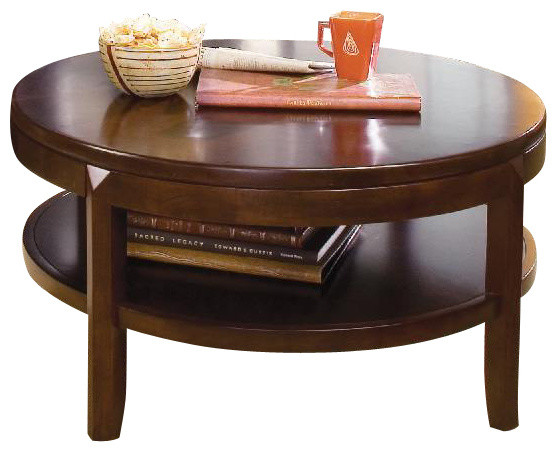 American Drew Tribecca 3-Piece Coffee Table Set with Entertainment ...