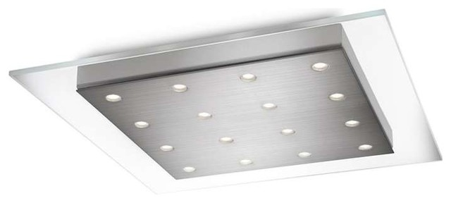 Philips Lighting Matrix Led Ceiling Light Brushed Nickel