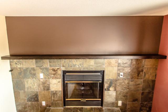 Southdale 2012 Custom Fir Fireplace Mantle