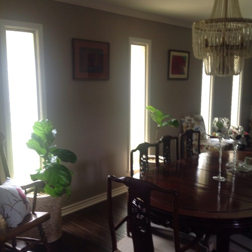 How Should I Hang Curtains In Dining Room