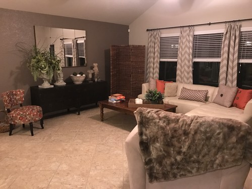 Help My Living Room I Am Stuck Between Design Styles Looks Cluttered