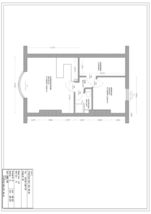 layout ideas for 1 bed flat in brighton uk