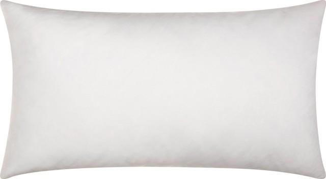 "Mina Victory Down Pillow Insert, 12""x24"""