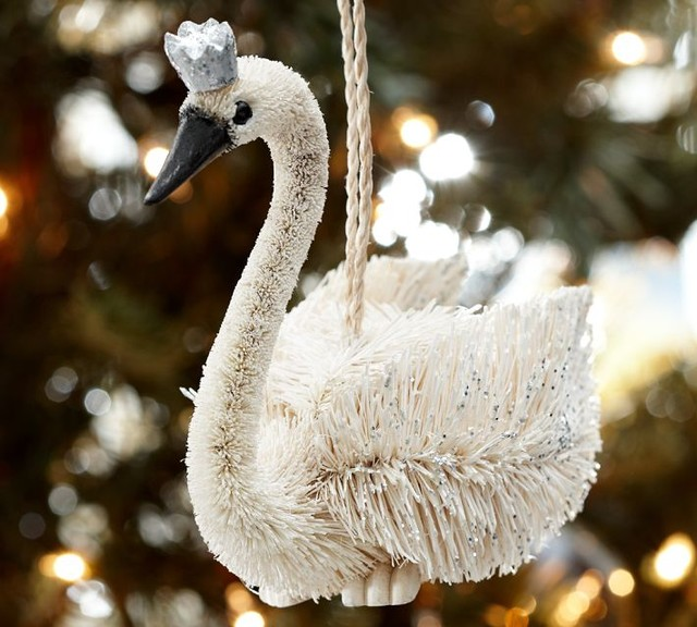 Crowned Swan Ornament