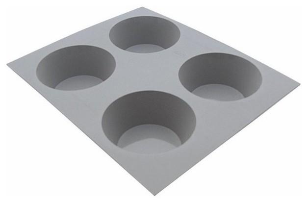 de Buyer Elastomoule 4-Muffins Silicone Mold